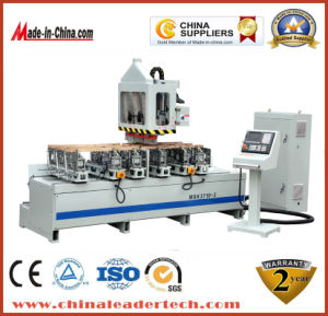 European Standard Woodworking CNC Tenoner Machine for Feet of The Chari and Window Blinds pictures & photos