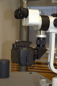 Beam Splitter and DSLR Camera Adapter for Slit Lamp pictures & photos