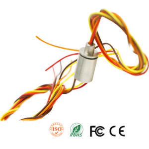 Capsule Slip Ring with Metal Housing for Higher Temperature Working pictures & photos