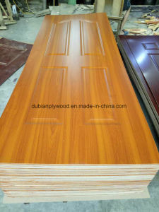 Melamine Molded HDF Door Skin (Wenge color) pictures & photos