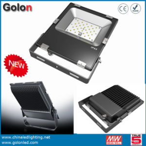 Price for Stadium Flood Lights with Sosen CE TUV Driver Philipssmd Mini Ultra Thin LED Floodlight 10W 20W 30W IP65 Waterproof Floodlight pictures & photos