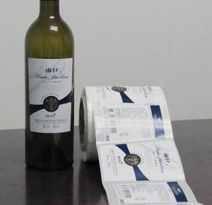 OEM Printing Wine Labels pictures & photos
