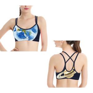 7780f3c24bf2d China Hot Cute Teen Sport Yoga Bra One Shoulder Dance Sports Bra ...