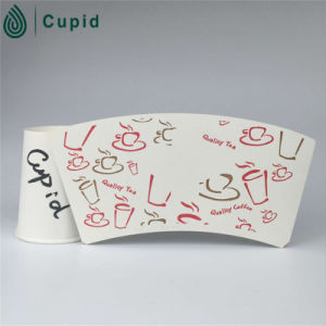Hztl Customized Size Food Grade Disposable Single PE Coated Cup Paper for Paper Cup pictures & photos