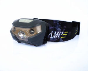 Rechargeable Running Headlamp with USB Port and Inductive Switch