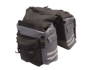 Cycling Double Rear Pannier Bag for Bike (HBG-054) pictures & photos