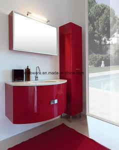 China High Gloss Red Wave Pvc Bathroom