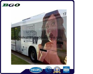 Digital Printing One Way Vision Screen Window Tint Film (120mic film 120g release paper) pictures & photos