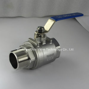 Stainless Steel 2PC Ball Valve with Female/Male Thread End 1000wog pictures & photos
