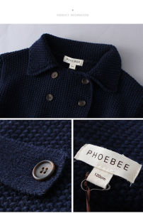 Phoebee Children Apparel Knitting/Knitted Winter Clothes for Girls pictures & photos