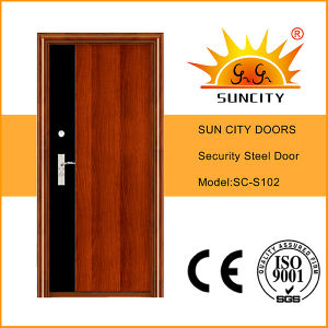 2016 New Design Nigeria Steel Security Door (SC-S102) pictures & photos