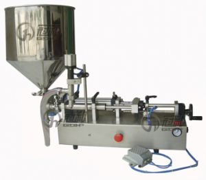 Automatic Bottle Fruit Jam Filling Machine with Capping Labeling Line pictures & photos