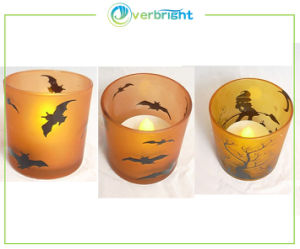 LED Plastic Tealight Candle for Halloween (HD-HCl-001)