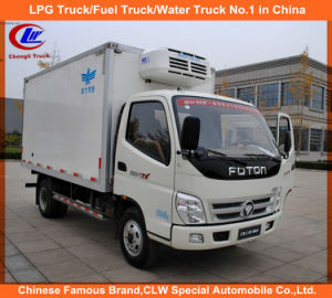 Foton 4*2 Refrigerated Cooling Van Truck 1.5tons for Sale pictures & photos