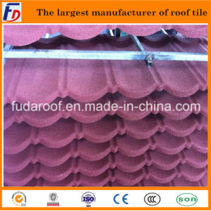 Nice Colorful Stone Coated Metal Roof Tile From China