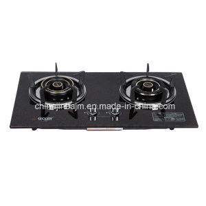 2 Burners 760 Tempered Glass Top Built-in Hob/Gas Hob pictures & photos