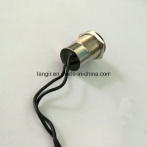 IP67 Waterproof 19mm Metal Electric Push Button Switch with Wire Terminal pictures & photos