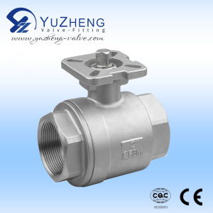 Ss Industrial 2PC Ball Valve pictures & photos