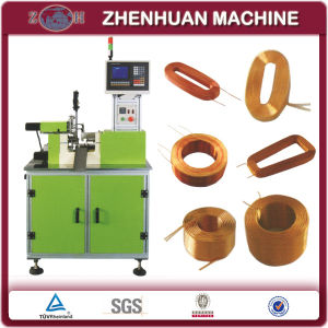 CNC Hot Air Bonding Bobbinless Coil Winding Machine for Air Core Coils by Using Fine Thermal-Plastic Coated Wire pictures & photos