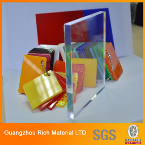 8mm Clear Cast Acrylic Sheet Plastic Perspex Sheet pictures & photos