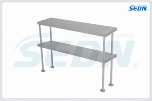 Handmade Commercial Stainless Steel Double Bench Overshelf (BE0002) pictures & photos
