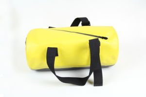 Yellow Color 100% Waterproof Tarpaulin Dry Gym Bag (MC4043) pictures & photos
