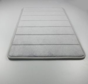 Bath Mat Rugs Anti Slip Memory Foam Non Bathroom Soft Bathmat