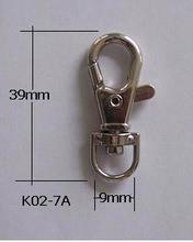 Zinc Plating Bag Hardware Accessories Hot Sale Plated Silver Buckle for Bag Decoration pictures & photos