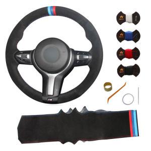 Sewing Stitch Leather Custom Car Steering Wheel Cover for BMW F22 F23 F45  F46 F30 F31 F34 F35 F32 F33 F36 X3 X4 X5 X6 M3 M2 M4 M5 M6 M Sport 325I 330I