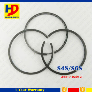 Mistubishi Engine S6s S4s Piston Ring Set (34417-02012)
