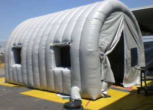 White Dome Tent Inflatable Tunnel Tent for Sale