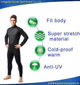 Man′s Neoprene Super Stretch Durable Fitness Diving Surfing Suit