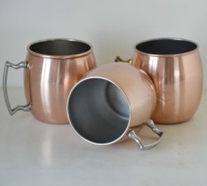 Stainless Steel Moscow Mule Copper Mug pictures & photos
