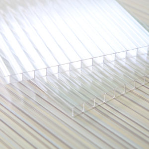 Colored or Transparent Twinwall Hollow Polycarbonate Sheet for Greenhouse