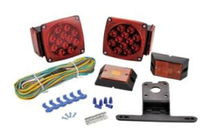 12 Volt LED Submersible Universal Trailer Tail Lights