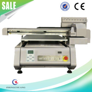 High Resolution Glass / Ceramic Digital UV Flatbed Printer