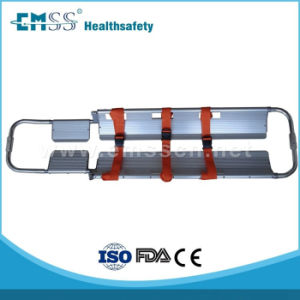 Edj-001A Aluminum Alloy Scoop Stretcher for First Aid of Sale