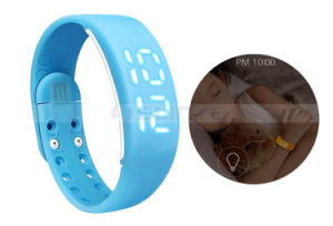 Colorful Multi - Functional Running Sport LED Smart Ladies Wrist Watch Bracelet Wrist Watch Pedometer pictures & photos