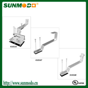 Manufacture Solar System Panel Racking Aluminum Brackets