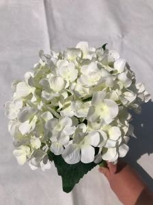 Hydrangea Bouquet Artificial Flowers Floristry DIY for Home Wedding Decorative pictures & photos