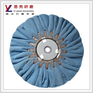 Yiliang Folding Air Wind Bias Cotton Wheel for Metal