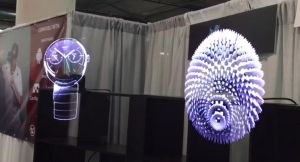 High Resolution Hypervsn Hologram Display 3D Holographic Projector pictures & photos