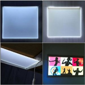 Light Guide Plate for Advertisement, Display Lighting