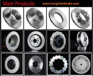 Heavy Duty Brake Discs with ISO9001 Certificate and SGS Certificate