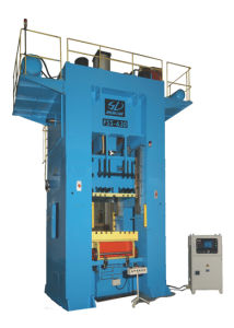 Single Action Mechanical Drive Closed Frame Single Crank Precision Press
