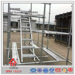 Q235 Scaffolding Ladder Hot DIP Galvanized Surface