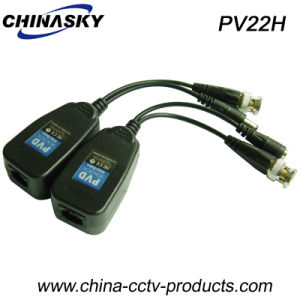HD-Ahd/Cvi/Tvi Video Balun Transmitter and Receiver Over Cat5/6 Cable (PV22H) pictures & photos