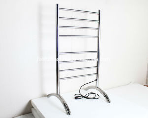 Bathroom Floor Free Standing Towel Rack