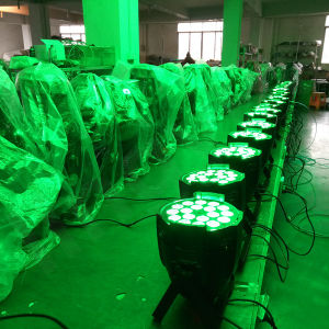 DMX512 Indoor 18X10W 4in1 RGBW LED PAR pictures & photos