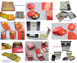 Custom Luxury Cardboard Paper Moon Cake/Food Gift Box Packaging in Super Quality pictures & photos